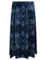 Eastex velvet tapestry skirt