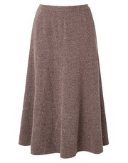 Eastex tweed fit and flare skirt