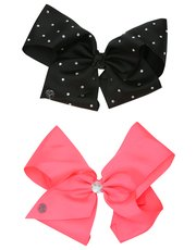 JoJo Siwa diamanté bow two pack