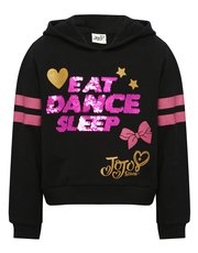JoJo Siwa two way sequin slogan hoody