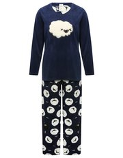Sheep fleece pyjamas