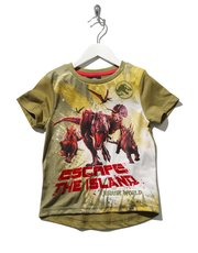 Jurassic World print t-shirt