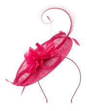 Jacques Vert feather flower disc headpiece