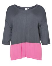 Junarose colour block jumper