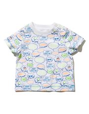 Speech bubble print t-shirt