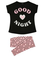 Heart slogan pyjamas