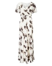 Jacques Vert printed maxi dress