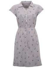 Brakeburn swallow shirt dress