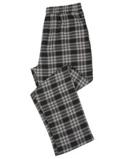Black check lounge trousers