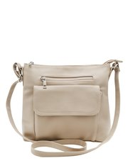 Front pocket cross body bag