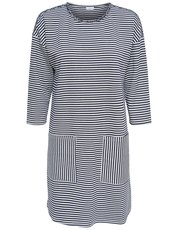 JDY stripe pocket sweat dress