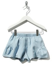Frill side shorts