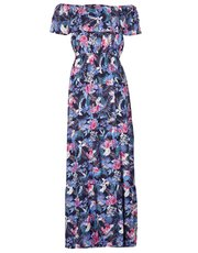 Izabel floral bardot maxi dress