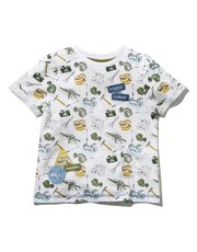 Natural History Museum badge t-shirt