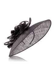 Jacques Vert large flower embellished disc hat