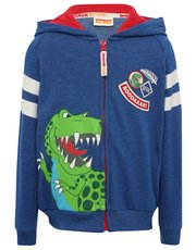 Dinosaur Roar zip through hoody