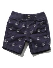 Sailboat print shorts