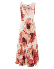 Roman Originals floral print satin dress
