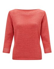 Precis Petite crochet tape yarn top
