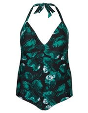 Junarose palm print swimsuit