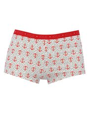 Anchor print boxer briefs