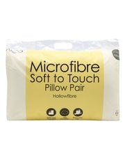Soft to touch pillow pair