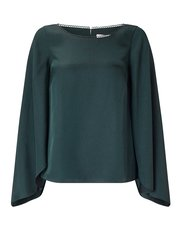 Jacques Vert Darcey fluted sleeve blouse