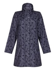 TIGI leaf printed coat