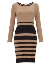 Precis Petite stripe knitted dress