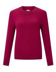 Eastex beaded turtle neck top