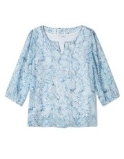 Dash inky shells georgette blouse
