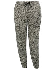 Plus paisley print trousers