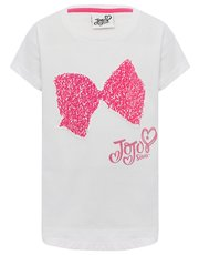 Jojo Siwa two way sequin bow t-shirt
