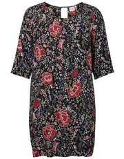 Junarose plus floral print dress