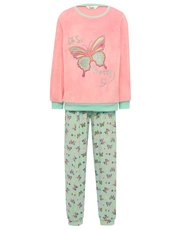 Butterfly velour pyjamas