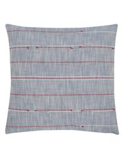 Broken stripe cushion