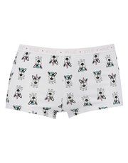 Dog print boxer brief