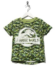 Jurassic World camouflage glow in the dark t-shirt