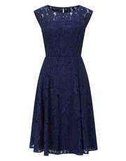 Precis Petite lace prom dress