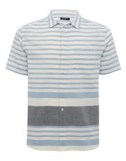 Breton striped short sleeve shirt