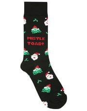 Christmas slogan socks