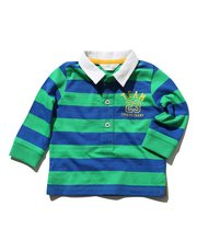 Stripe rugby t-shirt