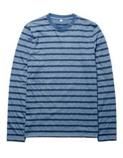 Brakeburn long sleeve stripe print t-shirt