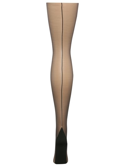 Pretty Polly back seam tights
