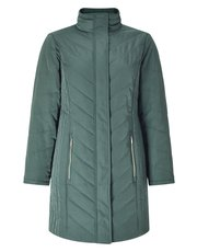 Eastex chevron padded coat