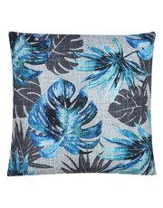 Leaf pattern print cushion
