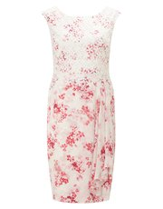 Jacques Vert petite flower lace dress