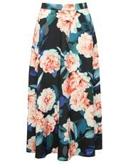 Floral bloom skirt