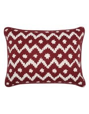 Diamond pattern cushion