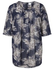 Junarose plus floral print tunic top